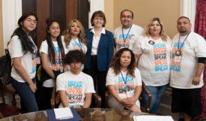 Survivors Speak California, April 2018