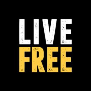 Live Free-logo